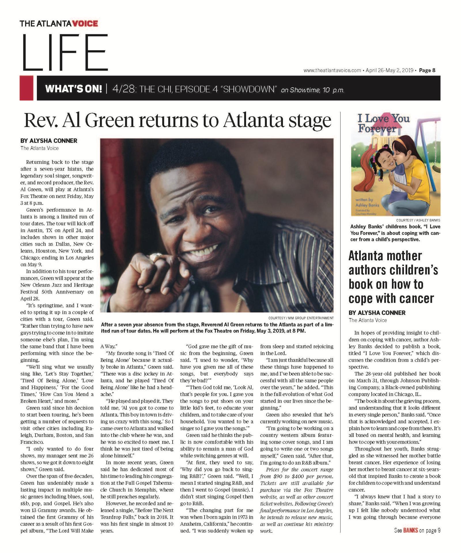 AL Green Article